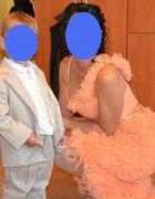 Sukienka falbankowa
