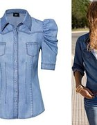 jeansowa koszula