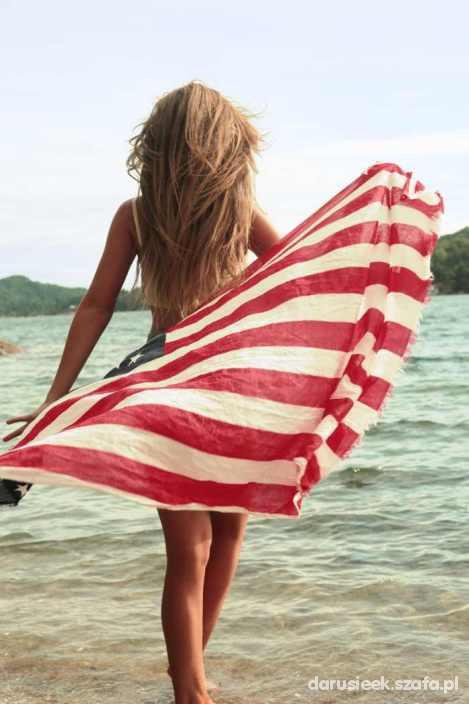 Chusty i apaszki Chusta z Flaga USA