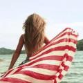 Chusta z Flaga USA