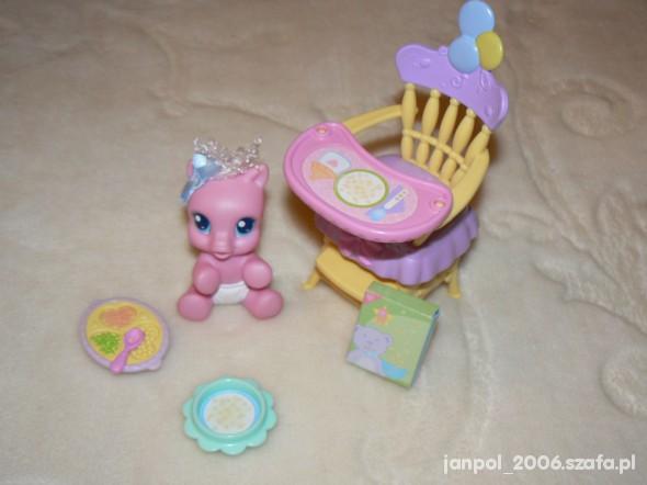 Zabawki My little Pony różowy kucyk bobas