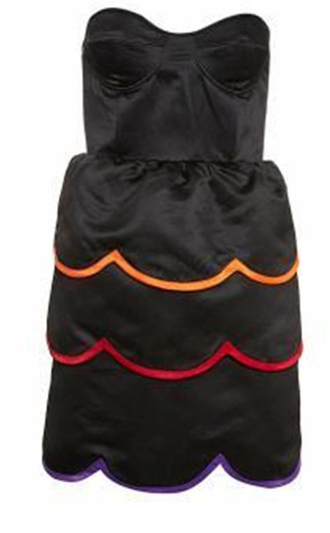 TOPSHOP pastele gorsetowa sukienka Peter Jensen