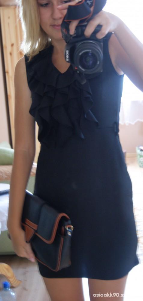 Eleganckie mała czarna plus torebka