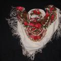 Ludowa apaszka w kwiaty