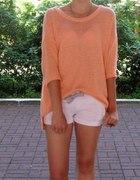 sweterek odcien pomaranczy