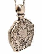 ASOS naszyjnik buteleczka perfumy zloty vintage
