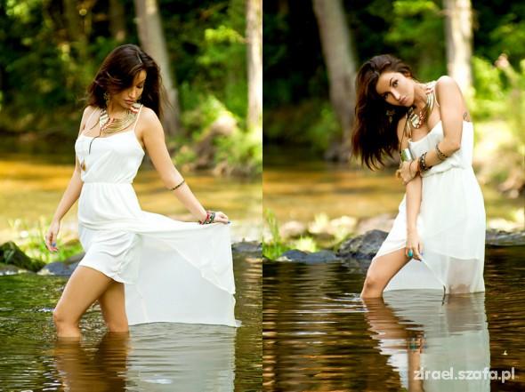 Romantyczne Summer River