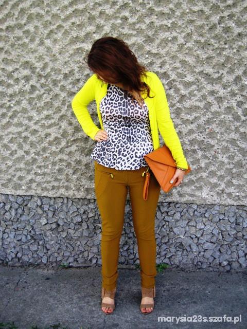 Mój styl Panterkowo mi Marcelka Fashion