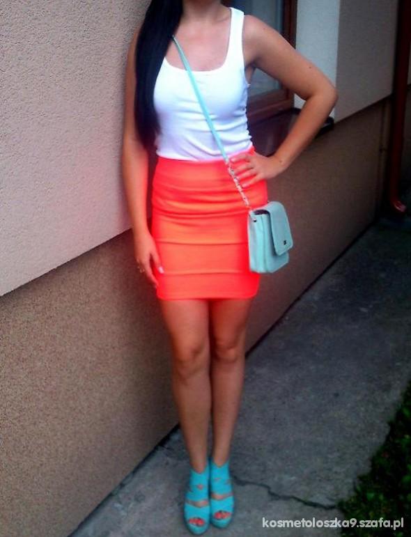 Mój styl pomarańcz i mięta