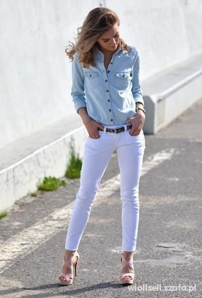 Mój styl koszula dżinsowa