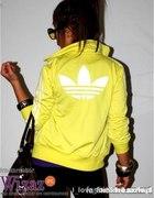 Bluza Adidas żółta S...