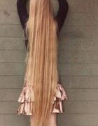 dłuuugie włosy