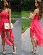 sliczna asymetryczna sukienka