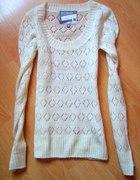 ażurkowy sweterek CROPP