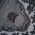 Chusta z kwiatami bardzo oryginalna
