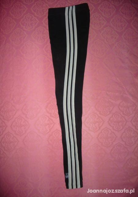 Legginsy Czarne legginsy adidas