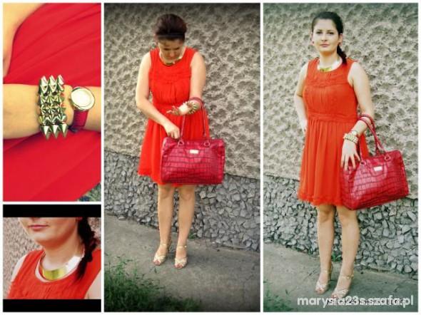 Mój styl Marcelka Fashion in red