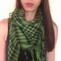 zielona arafatka