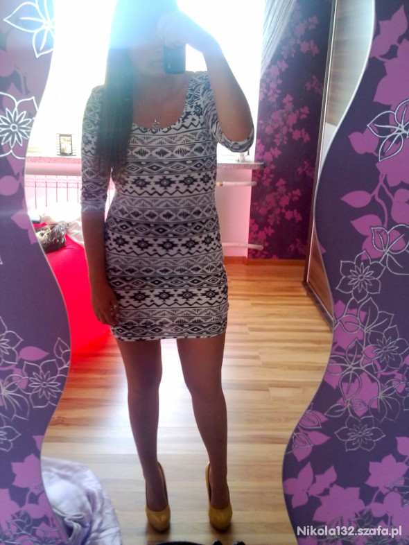 Mój styl Aztec dress