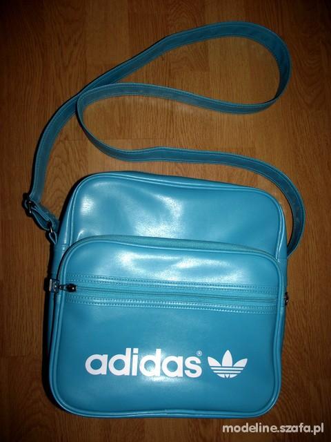 Torba błękitna Adidas