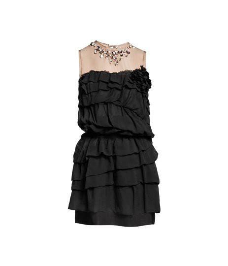 Suknie i sukienki sukienka Lanvin for h&m 2010