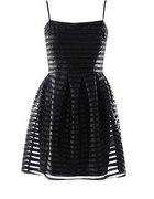 H&M czarna sukienka na ramiaczkach 36