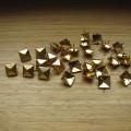 Złote ĆWIEKI PIRAMIDKI 9mm