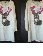 nowy sweter jelen s m