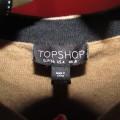 karmelowy sweterek TopShop