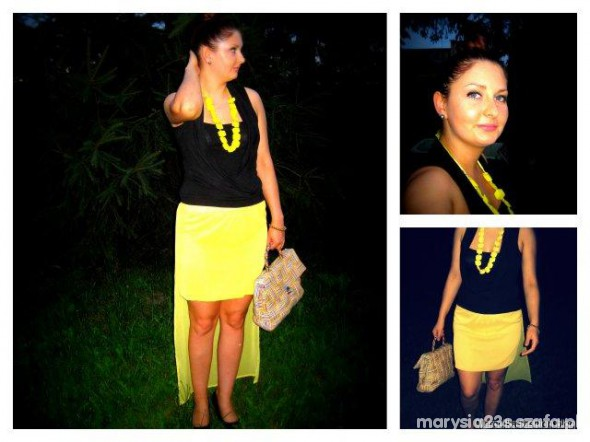 Mój styl sunny skirt and Marcelka Fashion