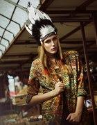 Koszula hippie boho retro vintage aztec kolorowa