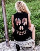 diy skull t shirt