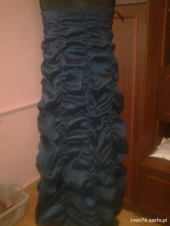 Suknie i sukienki ŚLICZNA SUKIENKA WIECZOROWA 36