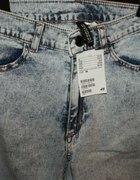 Spodnie marmurki H&M 38