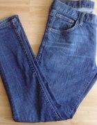 Spodnie proste jeansy H M Drain 33x32
