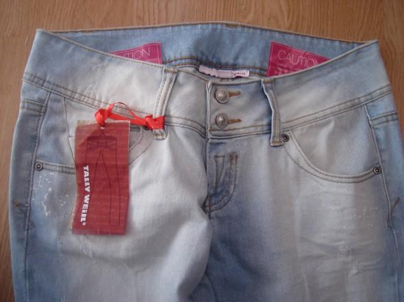 Spodnie Tally Weijl roz 42 jasny jeans