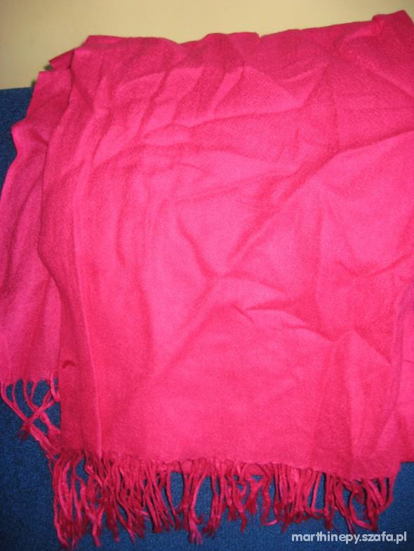 Chusty i apaszki rożowa chustka