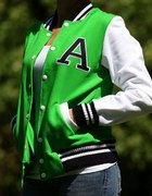 Zielona baseballówka bejsbolówka A