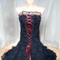 gorsetowa sukienka