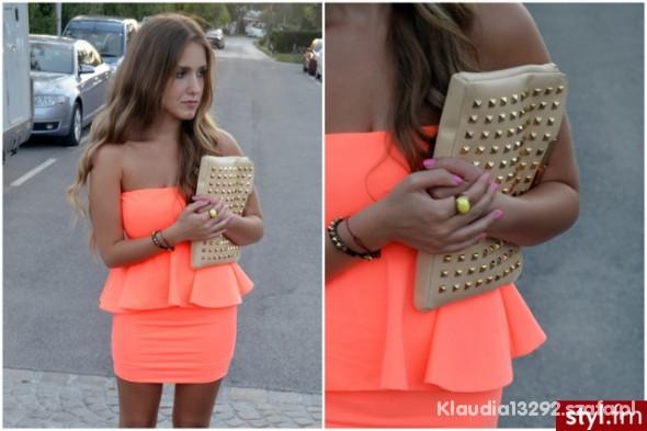 Mój styl sliczna sukienka