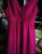 Zwiewna sukienka pink Forever 21