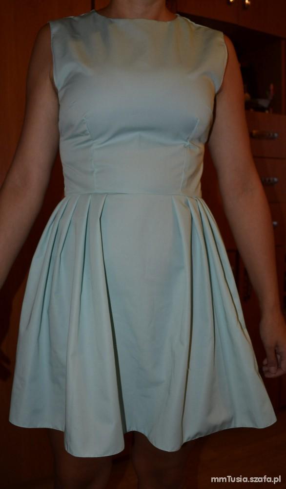 Suknie i sukienki Miętowa sukienka