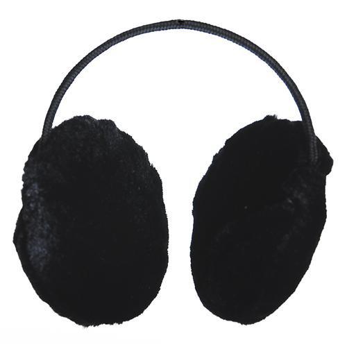 Nauszniki duże czarne