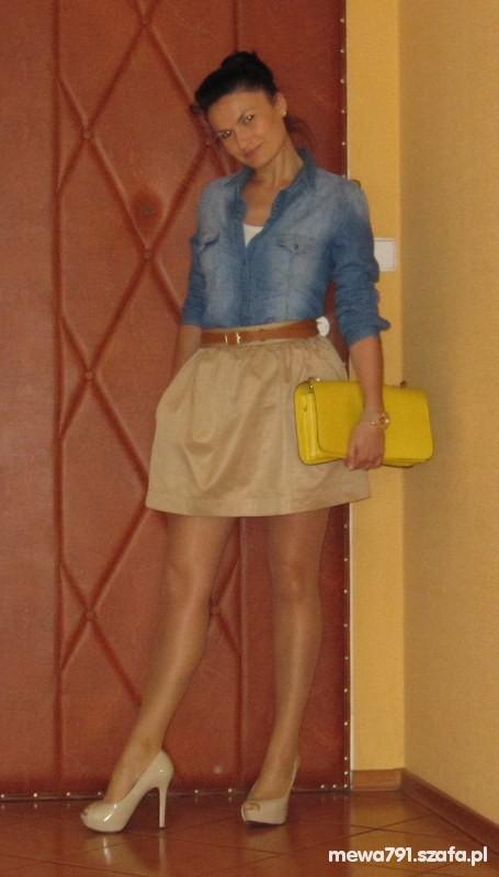 Mój styl Jeans&Nude