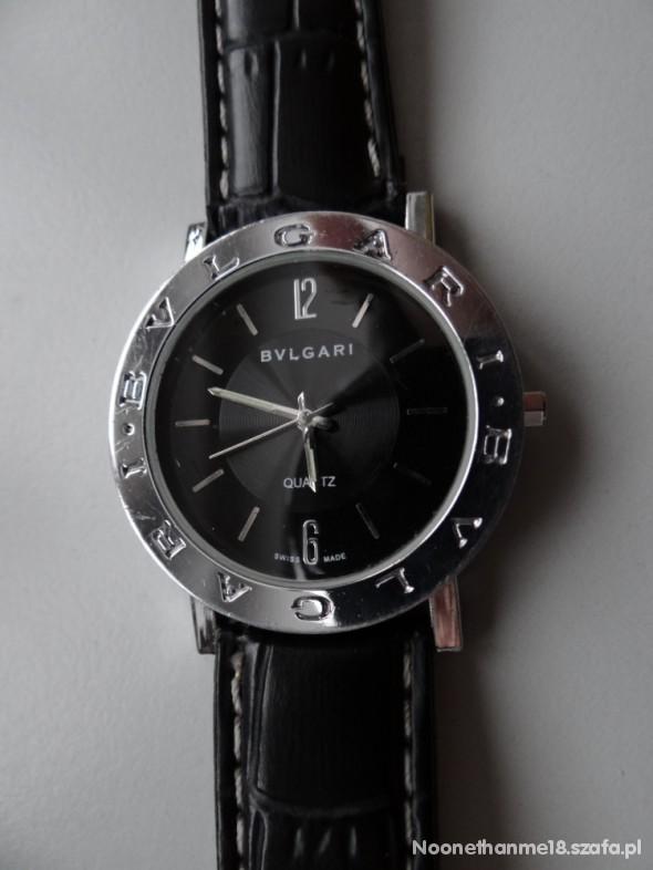 czarny damski zegarek BVLGARI D&G
