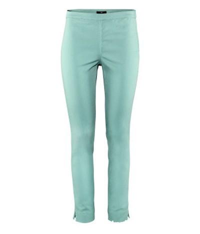 Miętowe tregginsy spodnie H&M