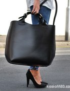 shopper torba xxl zara czarna