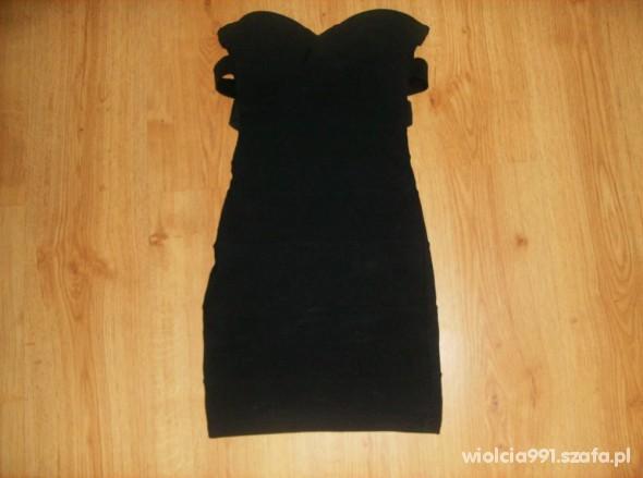 Suknie i sukienki Czarna bandażowana Tally weijl