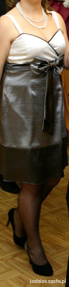 Suknie i sukienki Świetna trzykolorowa