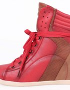Czerwone trampki high top roz 40...